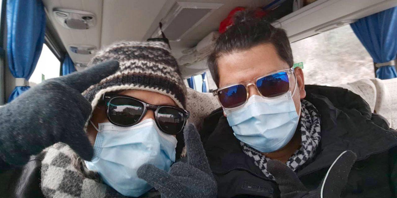 चीनबाट स्वदेश फर्कँदै नेपाली विद्यार्थी