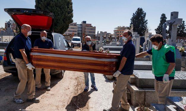 कोरोना संक्रमणले स्पेनमा एकैदिन ८१२ जनाको मृत्यु